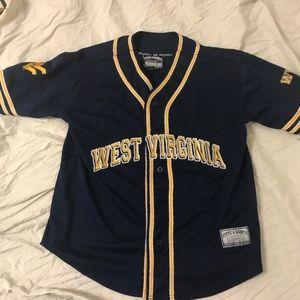 Med West Virginia baseball jersey